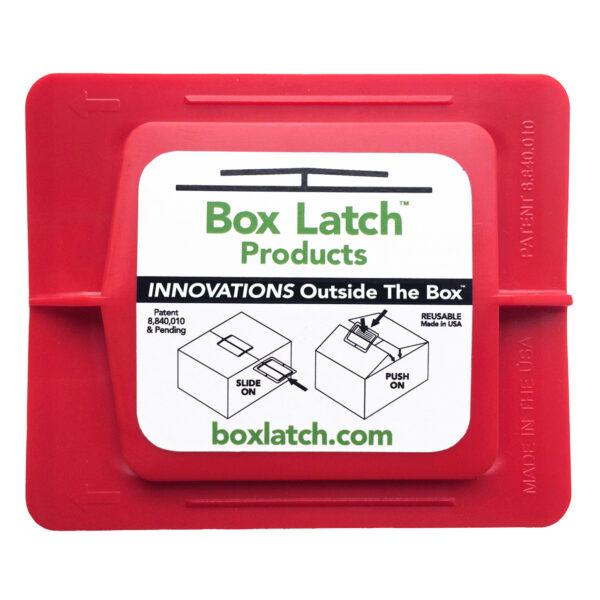 Box Latch - No Tape needed. Medium - red.