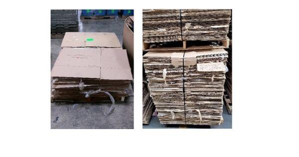 Box Latch - Closing boxes without tape. Stacked corrugate. Corrugate disposal. Box Shortage.