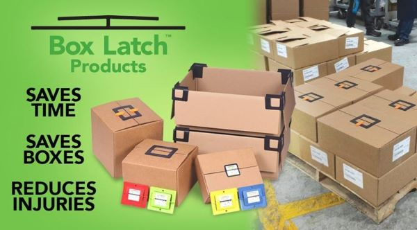 Box Latch - Saves time. Saves Boxes. Reduces Injuries.